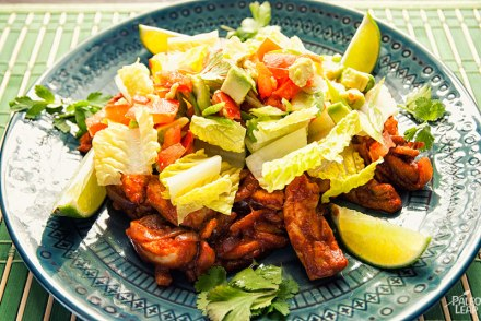 Chicken with Lime and Avocado Salad Paleo Recipes